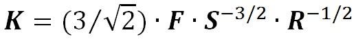 K Value defined equation
