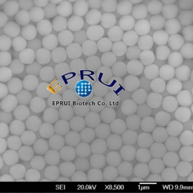 functionalized silica microspheres